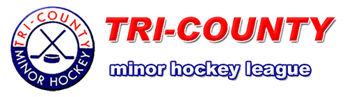 Tri-County Minor Hockey League - Standings